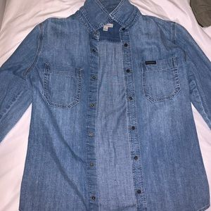 Calvin Klein Jean Button Down Shirt